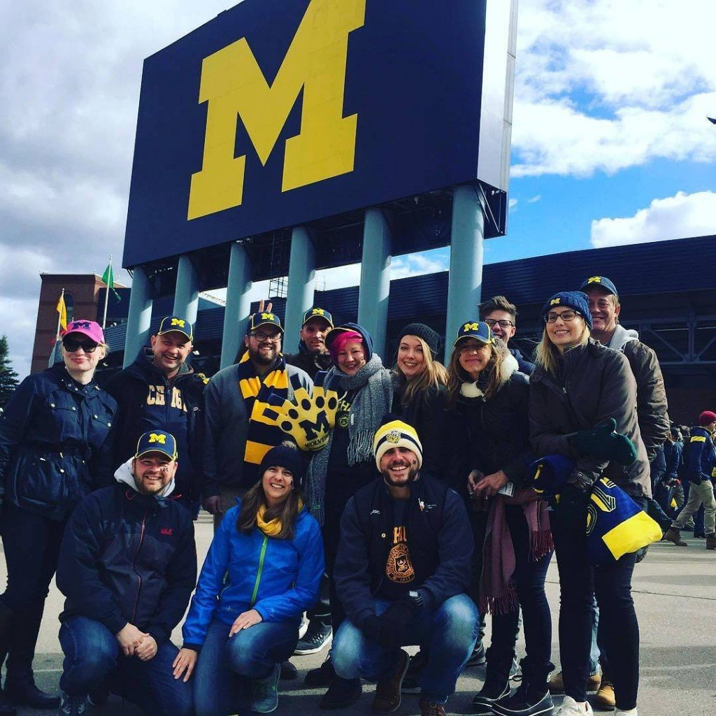 members of antigone cast and crew visit the big house